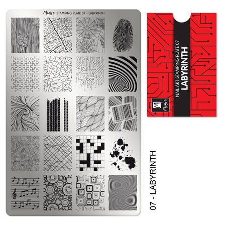 Moyra Stamping Plate 07 Labyrinth