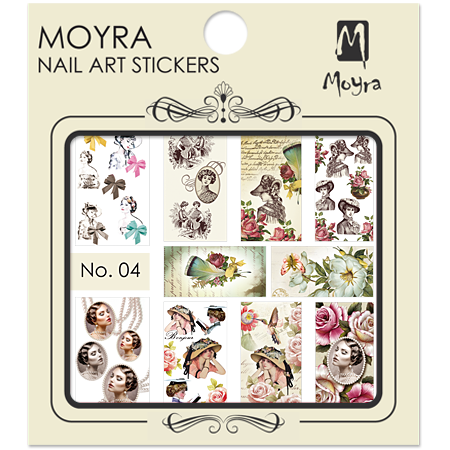 Moyra Nail art sticker No. 04