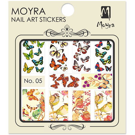 Moyra Nail art sticker No. 05