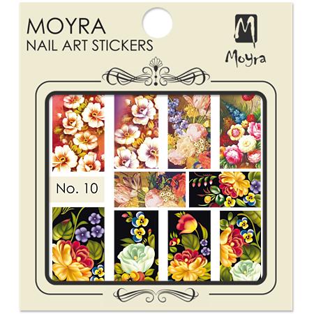 Moyra Nail art sticker No. 10