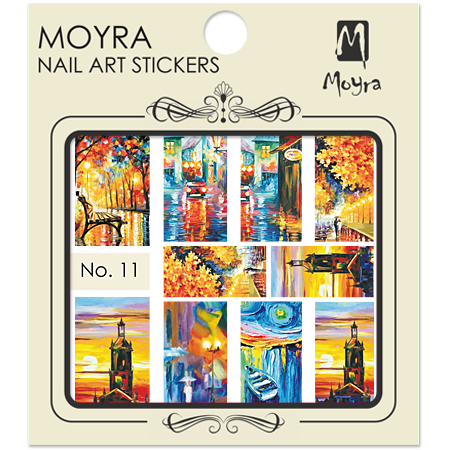 Moyra Nail art sticker No. 11
