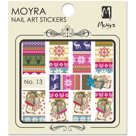 Moyra Nail art sticker No. 13