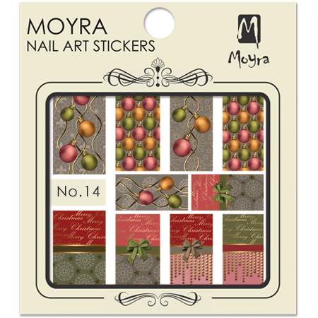 Moyra Nail art sticker No. 14