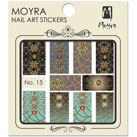 Moyra Nail art sticker No. 15