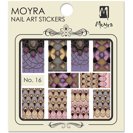 Moyra Nail art sticker No. 16