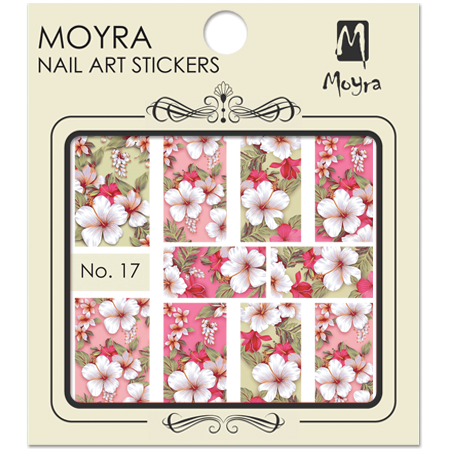 Moyra Nail art sticker No. 17