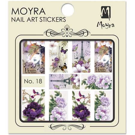 Moyra Nail art sticker No. 18