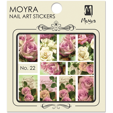Moyra Nail art sticker No. 22