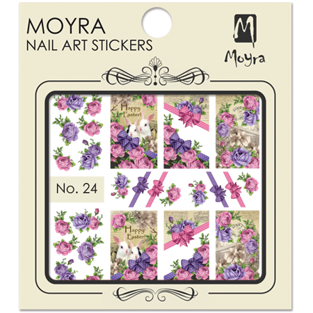 Moyra Nail art sticker No. 24