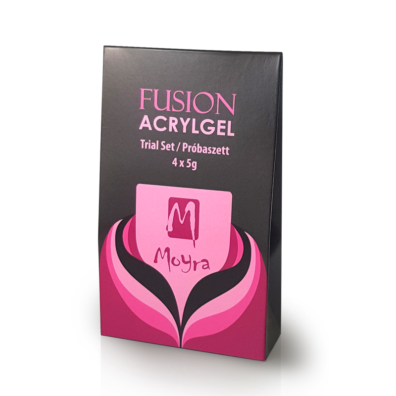 Fusion Acrylgel Trial Set 4 x 5 g