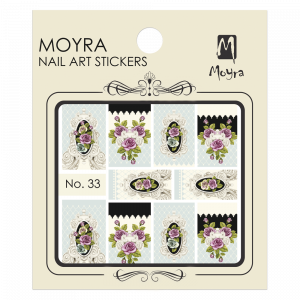 Moyra Nail art sticker No. 33