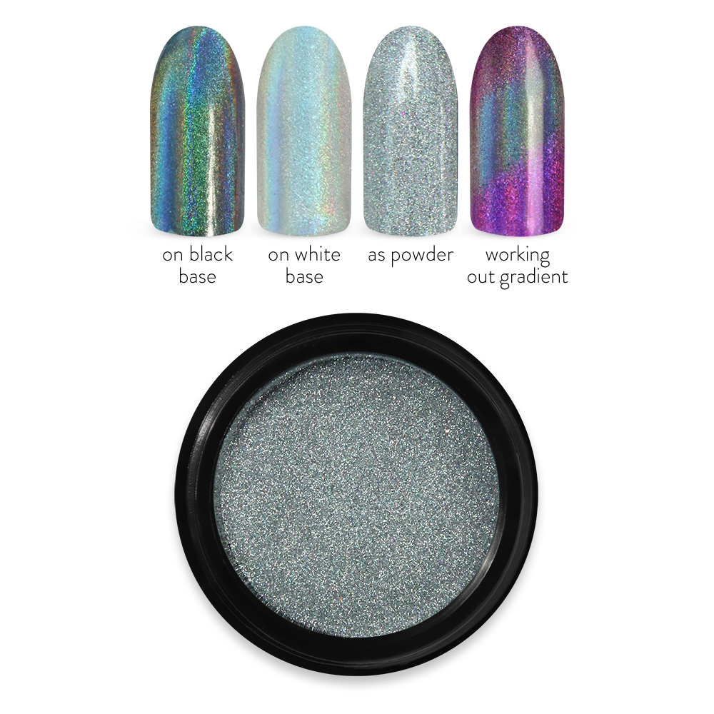 Holo Mirror powder No. 01 Silver
