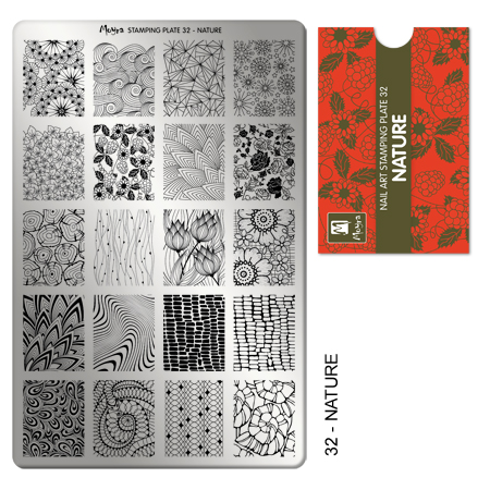 Moyra Stamping Plate 32 Nature