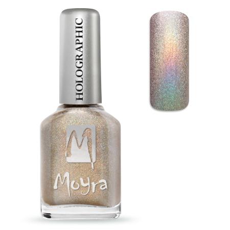 Holographic effect nail polish No. 252 Infinity