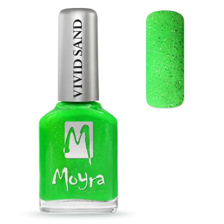 Sand Effect nail polish 712 Summer Green