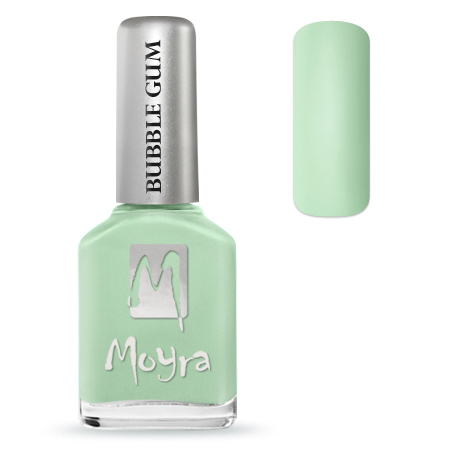 Bubble Gum effect nail polish No. 621 Mojito