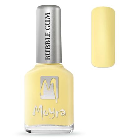 Bubble Gum effect nail polish No. 622 Limoncello