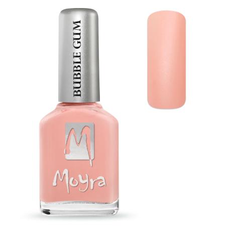Bubble Gum effect nail polish No. 624 Sweetie