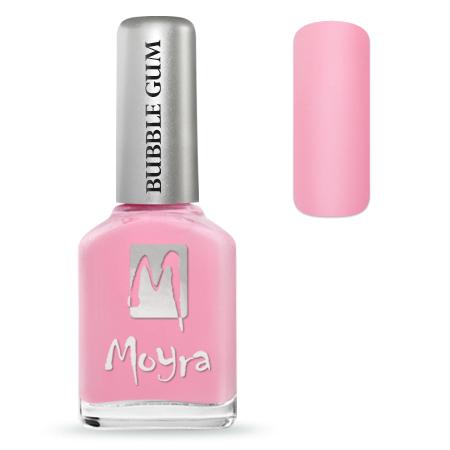 Bubble Gum effect nail polish No. 625 Love Love