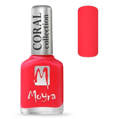 Coral effect nail polish No. 215 Feel Love