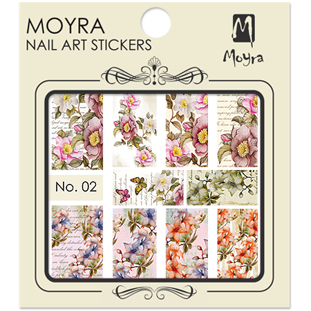 Moyra Nail art sticker No. 02