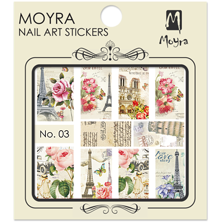 Moyra Nail art sticker No. 03