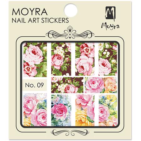 Moyra Nail art sticker No. 09