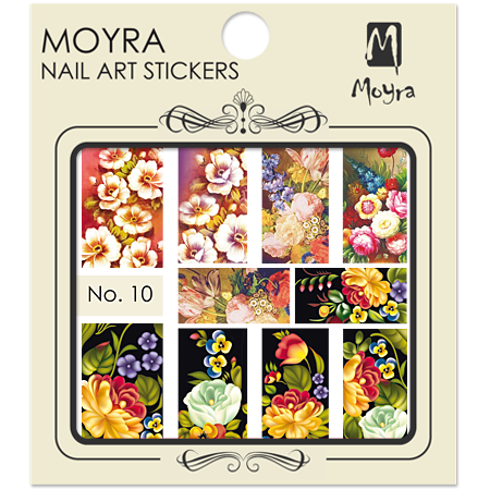Moyra Nail art sticker No. 10