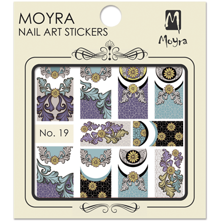 Moyra Nail art sticker No. 19