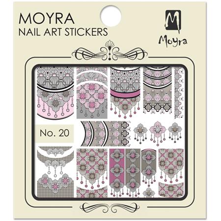 Moyra Nail art sticker No. 20