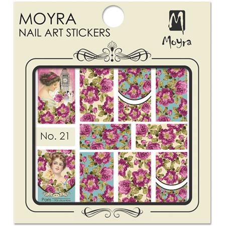 Moyra Nail art sticker No. 21
