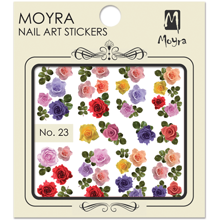 Moyra Nail art sticker No. 23