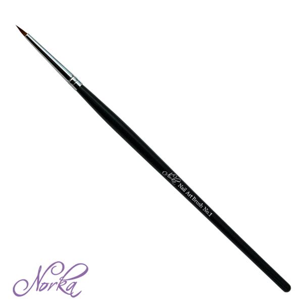 Norka nail art brush No. 1
