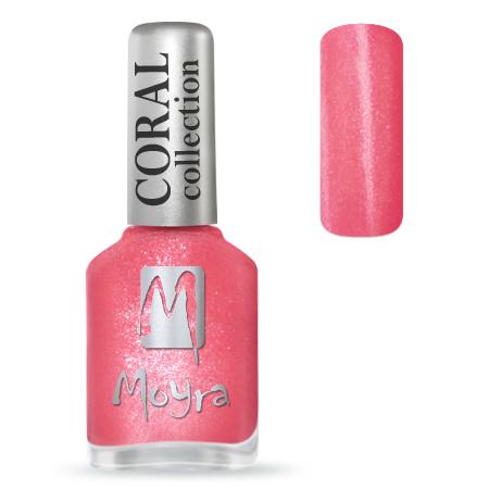 Coral effect nail polish No. 366 Solar Flare
