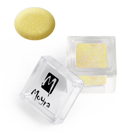Moyra Colour acrylic No. 113 Glitter Yellow