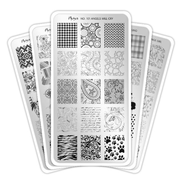 Mini stamping plates