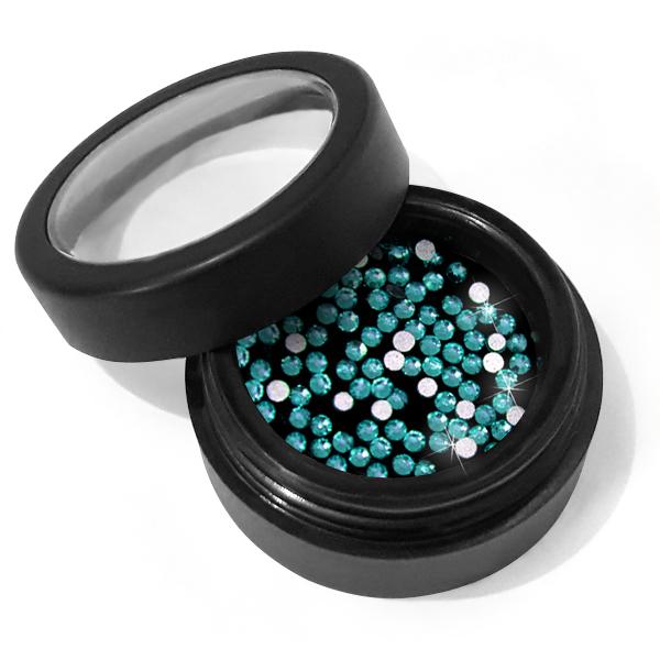 Moyra Crystal stones No. 09 Blue Zircon