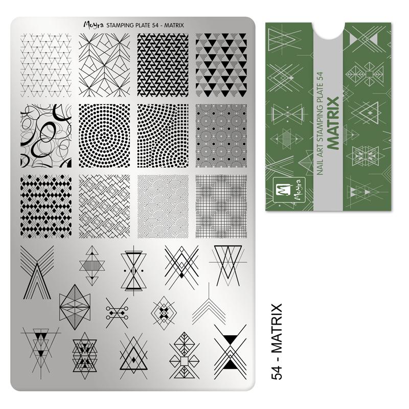 Moyra stamping plate 54 Matrix