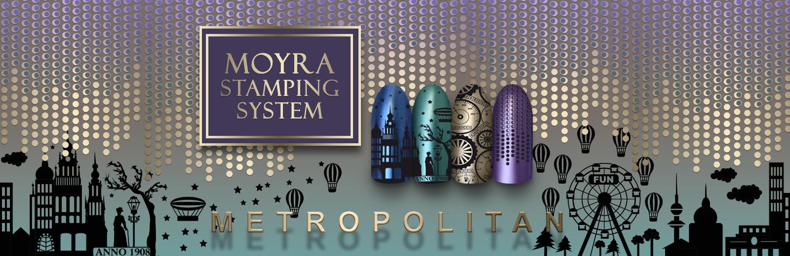 Moyra stamping plate No.63 Metropolitan