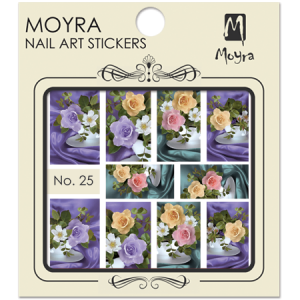 Moyra Nail art sticker No. 25