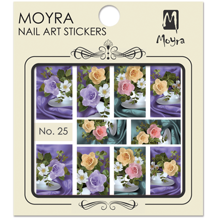 Moyra Nail art sticker No. 25