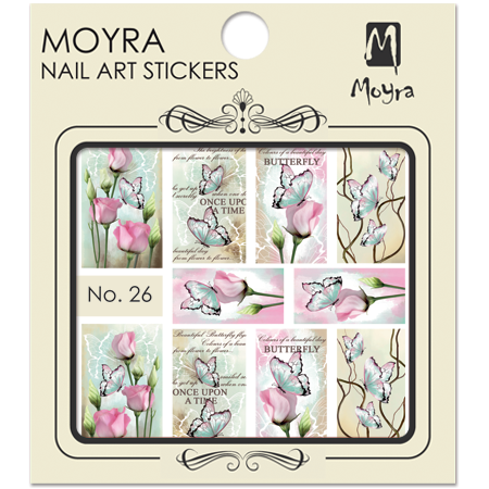Moyra Nail art sticker No. 26