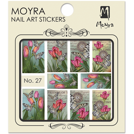 Moyra Nail art sticker No. 27