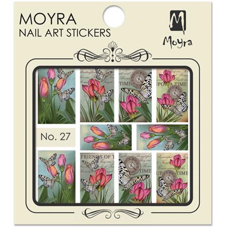 Moyra Nail art sticker No. 27
