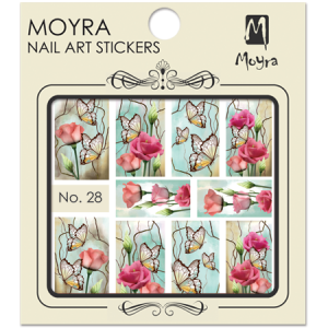 Moyra Nail art sticker No. 28