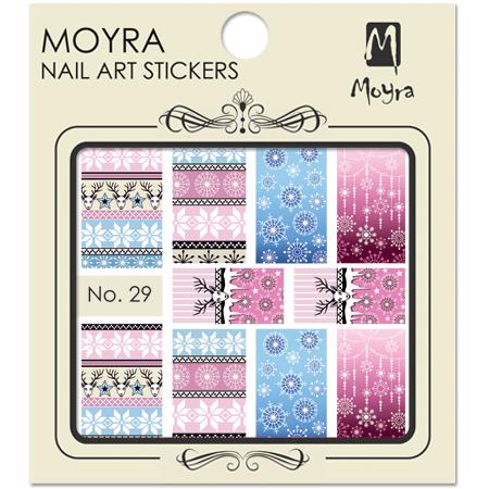 Moyra Nail art sticker No. 29