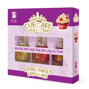 Moyra KIDS nail polish set Cupcake