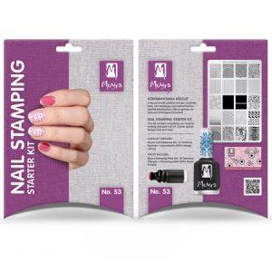 Nail stamping starter kit No. 53