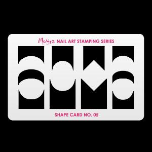 Moyra shape card No. 05