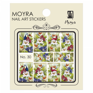 Moyra Nail art sticker No. 29
